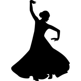 flamenco-female-dancer-silhouette-with-raised-right-arm_318-56498